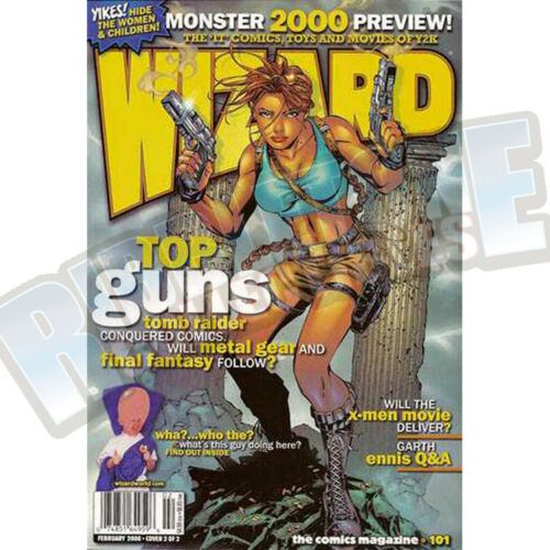 WIZARD THE COMIC MAGAZINE #101 COVER B VF