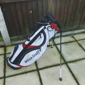 Wilson staff feather stand bag