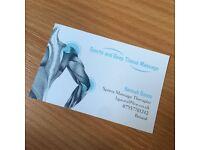 Professional Sports/Deep Tissue Massage - £30 Per hour