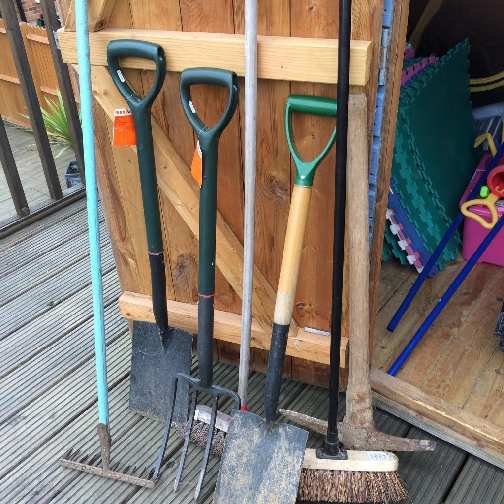 selection of garden tools - Garden Tools