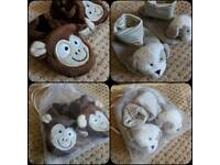Baby booties/soft shoes 0-3, 3-6, 6-9 months