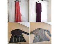 2 dresses and 2 jackets
