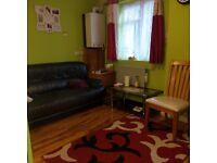 Hayes. UB3. Recently refurbished one double bedroom flat on ground floor.