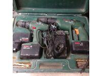 Bosch driver and hammer drill set