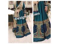 designer gown,was £1200,new,latest design