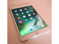 Apple iPad Mini 4(Silver) - Huge 16GB - Cellular Edition - Network Unlocked - Just £270 - Excellent!