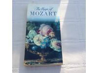 The Magic of Mozart- boxed set of 3 cassette tapes