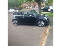 Mini One Convertible Black Reduced for quick sale