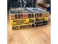 Guy Martin HardBack Book Bundle