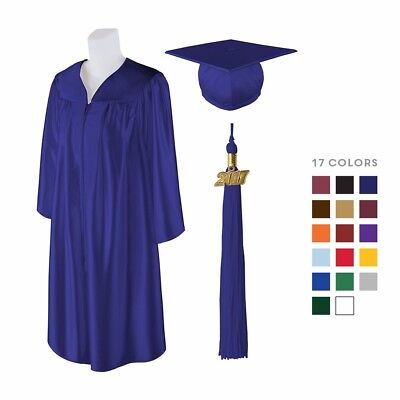 Matte Graduation Cap Gown and Matching 2019 Tassel Best Quality Lowest Price](Graduation Gowns)