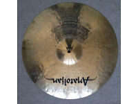 "20"" Anatolian Jazz or Rock ride - like new"