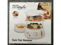 Two tier steamer