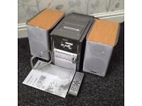 Panasonic HiFi Music System Mint Condition Fully Working Rare