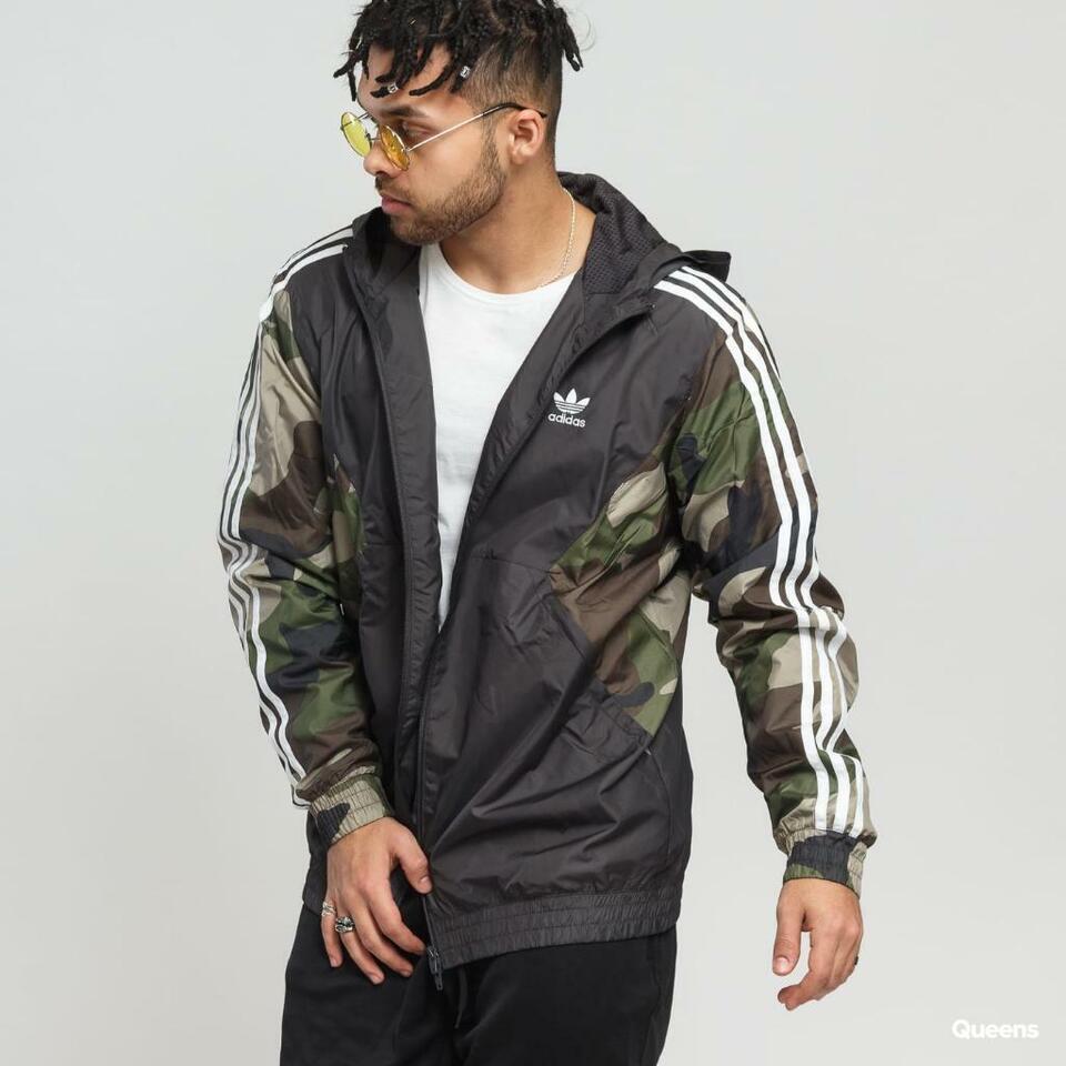 Adidas Camouflage Anzug Windbreak Jacke Hose Camo Trainingsanzug