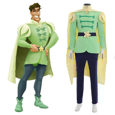 The Princess And The Frog Prince Naveen outfit Adult Men Cosplay costume!q3 - Princess And The Frog Costume Adults