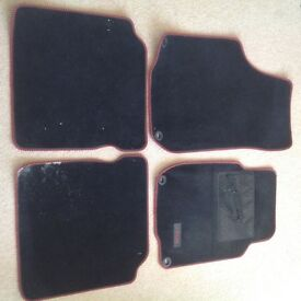 Seat Leon original car mats -complete set