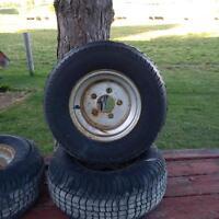 ATV trailer tires