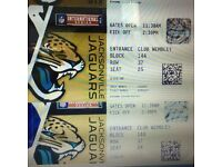 NFL International Series - Jaguars vs Colts - Diamond and Sapphire Tickets