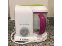 Beaba baby cook baby steamer cooker new condition
