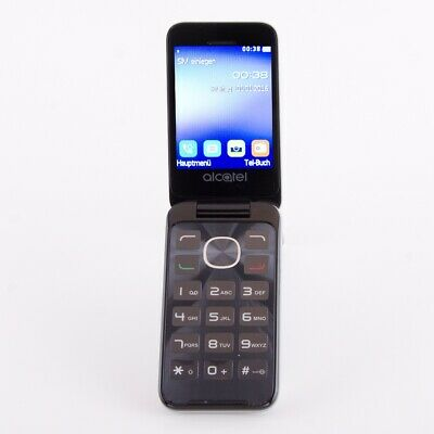 Alcatel One Touch 2051 8MB Metal Silver Handy Kundenretoure wie neu