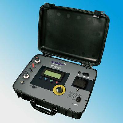 Tinsley Mo-5889-200a Dlro Portable Digital Micro-ohmmeter 200 Amp 20m