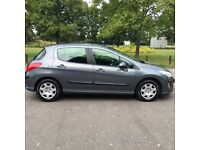 2008 Peugeot 308 1.6 HDI S 2 Remote Keys Full HPI Mileage Warranted Optional 3 Months Warranty