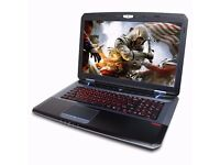 CYBERPOWER FANGBOOK CORE i7 GAMING MACHINE,16GB, SSD, GTX 770M 3GB + BOXED, XMAS SALES