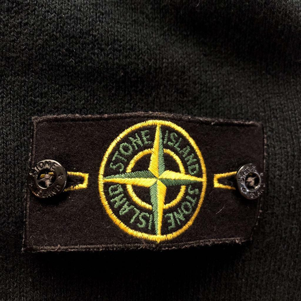 1804a4d81 Vintage Stone Island Jet Black Sweatshirt - Size Large - Excellent  Condition | in Bulkington, Warwickshire | Gumtree