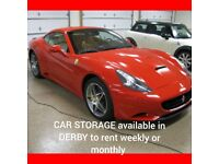 Car Storage available to Rent...07729791989