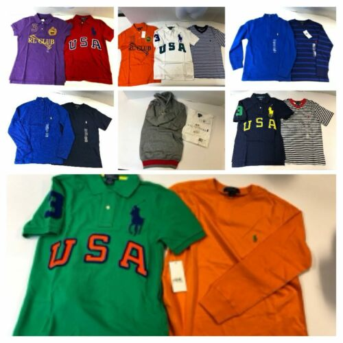 Polo Ralph Lauren Junior Boys Small Shirt Lot Brand New Polo Great value