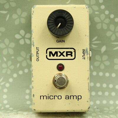 MXR M133 Micro Amp Guitar effect Boost pedal (AB07F261)