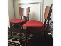 Two lovely Retro Vintage Mid Century G Plan dinning chairs