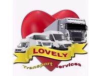 LOVELY SERVICES. £15 P/H MAN & VAN REMOVAL SERVICES