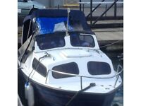 16FT Coastal Day Boat (2002)- Good Condition , although covers need replacing (open to offers)