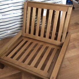 Futon Company Solid Wood Single Futon Frame