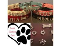 Customised dog collars