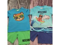 Baby boy used designer clothes for sale -including Moncler, Burberry, Kenzo, Moschino, Boss