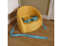 Mothercare Feeding Seat with belt - yellow