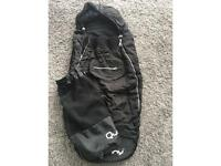 Used Quinny stroller footmuff & carry bag