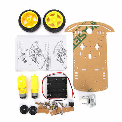 New Smart Motor Robot Car Battery Box Chassis Kit Speed Encoder For Arduino