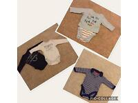 Boys 3-6 months vests