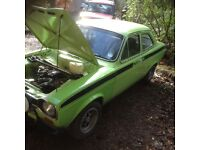 Ford escort mk1 Classic rally car