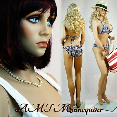 382639 Female Mannequins Hand Made Manikin- Sexy Manequin Abby1wig