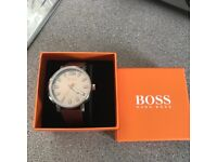 Brand new sealed in box genuine Hugo boss watch with tags bargain £100