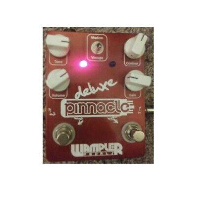 Wampler Pinnacle Deluxe Brown Sound Van Halen Style Tone Guitar Pedal