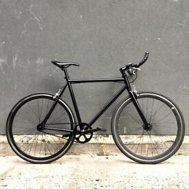 All Black Bicycle - Fully Matte Black / Quella / Carrera / Trek