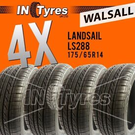 4x New 175/65R14 High Performance Budget Tyres Four Fitting Available x4 Walsall