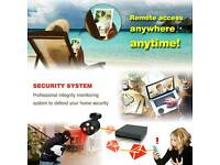 Pro Smart CCTV Security System,,,DVR Recorder with 2x Super HD