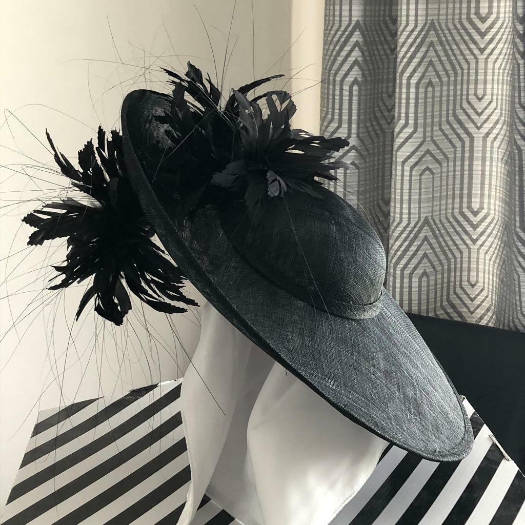 cb2d9c23 Stunning Black feather hat/fascinator | in Saltcoats, North Ayrshire ...