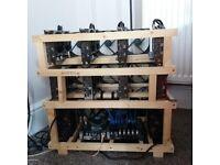 8x Zotac GeForce GTX 1070 Mini 8GB Mining Rig